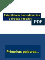 Estabilidade_hemodinâmica_drogas_vasoativas