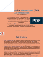 Business Monitor International