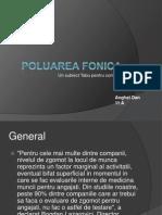 Poluarea Fonica