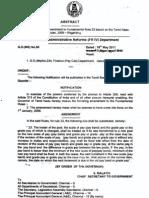 Amendments to FR23