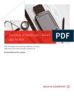 BAIN Research on Healthcare Industry and Future Trends