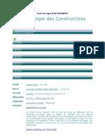 Pathologie Des Constructions
