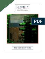 2011 Oral Exam Study Guide v1.1 - Student
