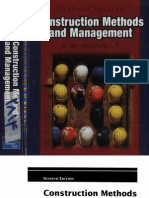 -Construction Methods and Management by S. W. Nunnally, 7th Edition, 2007