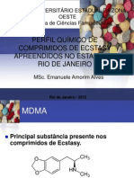 Minicurso 6 - Química Forense - Emanuele Amorim Alves Fiocruz