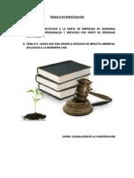 TRABAJO DE INVESTIGACIÓN LEGISLACION