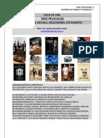 213. CICLO DE CINE Y EDUCACION + DIEZ PELICULAS Y PROPUESTAS DE TRABAJO