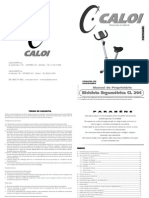 Caloi - Manual CL-204