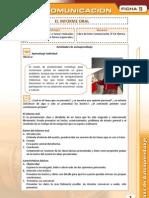 11 El Informe Oral