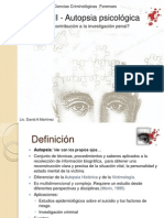 David Martínez - Autopsia psicológica