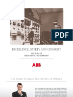 1MRK500063-GEN en Excellence Safety and Comfort - 100 Years of Relay Protection in Sweden