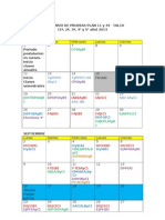 Calendario 2do Semestre. Segunda Propuesta.