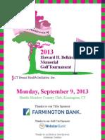 2013 CTBHI Belkin Golf Tournament