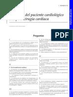 Anestesia Cardiopata Cuestionario