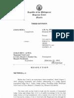 Anonymous vs. Judge Achas   Judicial ethics.pdf