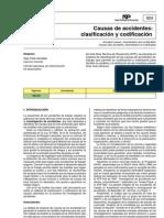 Clasificacion y Codificacion de Riesgos