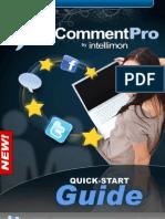 XCommentPro QuickStart Guide