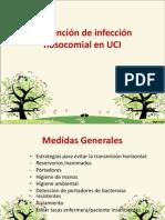 Prevencion de infección nosocomial en UCI