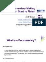 Documentary Making 101 11081