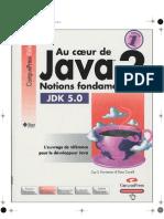 Au Coeur de Java 2 - Volume 1- Notions Fondamentales {9782744018336}