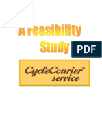 Project Feasibility Study on Cycle Courier Service