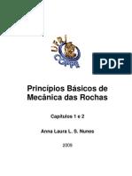 Cap 1 e 2 - Princípios Básicos de Mecânica das Rochas - 2009