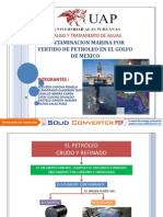Contaminacion Por Vertido de Petroleo en Mexico
