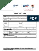 formulir BNPB