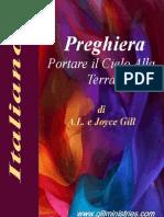 Italian - Preghiera Portare il Cielo alla Terra