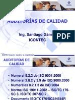 PRESENTACION - AUDITORAS DE CALIDAD ING. GÁMEZ