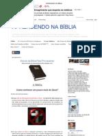 Estudo Da Biblia