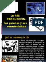PREPRODUCCIÓN  TEC.  2013
