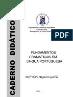 Fundamentos Gramaticais em Lingua Portuguesa - Caderno Didático - 2007