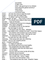 13. Adjectives