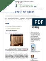 APRENDENDO NA BÍBLIA_ Os 5 Livros da LEI (Torah ou Pentateuco)
