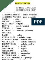 Descriptions