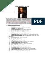 100 Obras Maestras de La Historia Del Cine