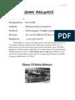 Railway Workshop Training Report