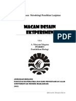 91900936-Macam-Desain-Eksperimen