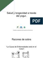 Salud Longevidad a Traves Del Yogur