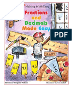 0766025136 Fractions and Decimals Made Easy