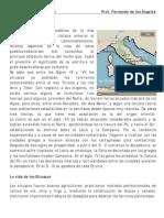 Ficha de Historia Los Etruscos