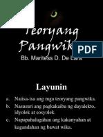 TEORYANG PANGWIKA