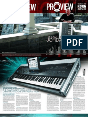 Korg Proview (Vol 1, 2006) | Synthesizer | Secure Digital