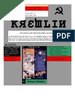 Plateau du jeu Kremlin