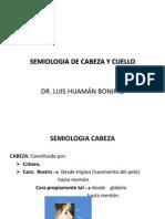 Semiologia de Cabeza y Cuello