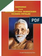 Sadhanas From DEVIKALOTTARA Jnanachara Vichara Patalah