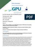 GPU Simulator