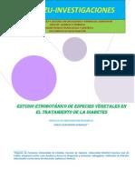 PACERIZU-INVESTIGACIONES-ESTUDIO ETNOBOTÁNICO DE ESPECIES VEGETALES EN EL TRATAMIENTO DE LA DIABETES
