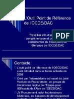 Vue d'Ensemble de l'application de l'Outil d'Évaluation de la Passation de Marchés de l'OCDE/DAC